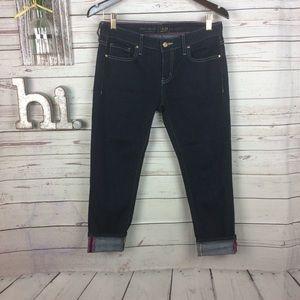 Kate spade Broome Street dark wash jeans 28